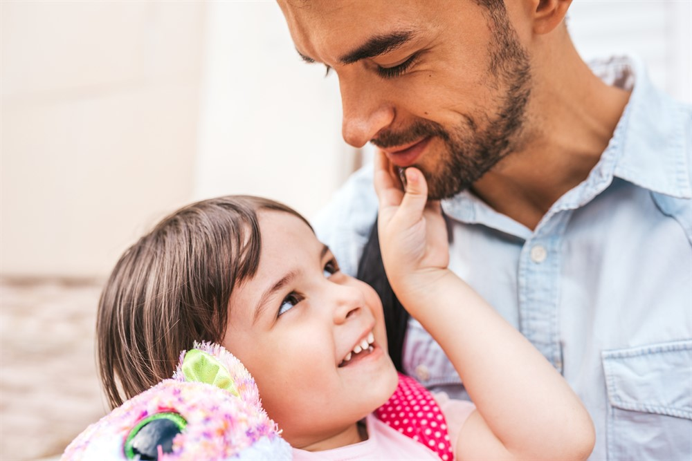 Communicate Love to Your Kids. Use Words When Necessary.