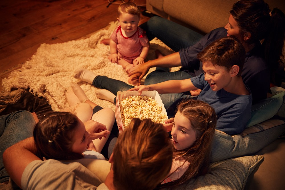 Whoops, There's Sex in Our Family Night Movie!