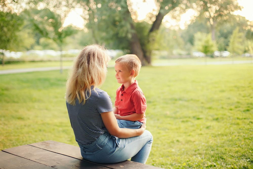 What Does My Child See on My Face in Times of Discipline?